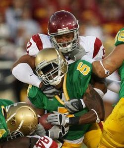 luthur brown usc middle linebacker